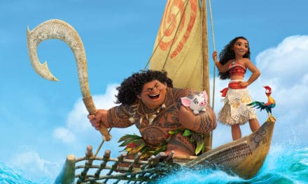 """Moana"" the Sing-Along version hits theatres!  How exciting!"