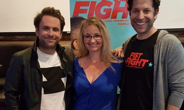 Fist Fight Movie Interview with Charlie Day & Director Richie Keen