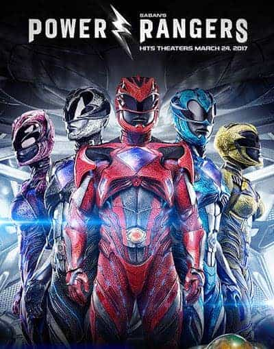 Reminder!  Power Rangers is coming 3/24/17