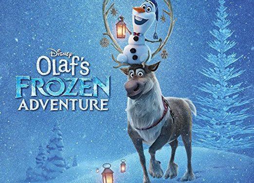 "For You Frozen Fans, ""OLAF'S FROZEN ADVENTURE""  Soundtrack Set for Release on Nov. 3"