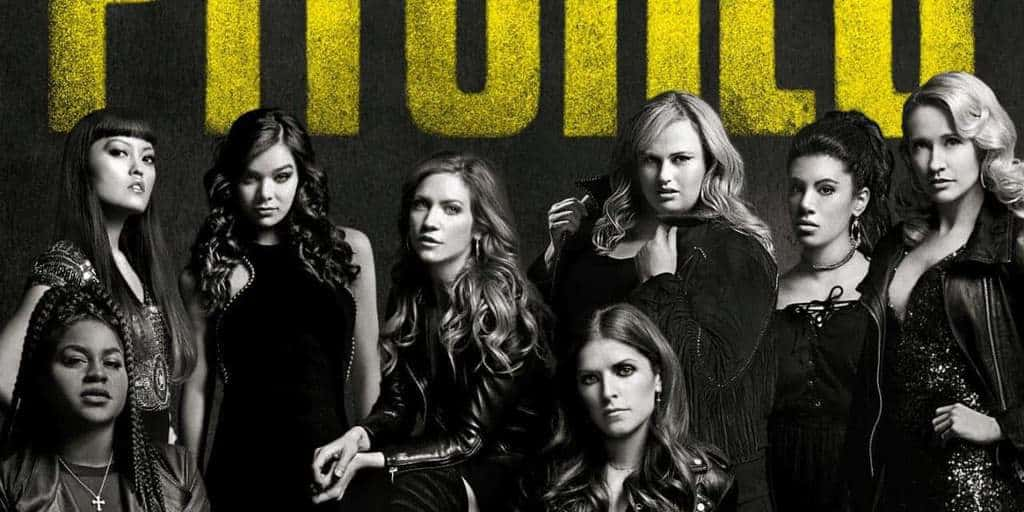 "Limited time, purchase ""PITCH PERFECT 3"" tickets on Fandango & receive free download of Freedom! '90 x Cups mashup!"