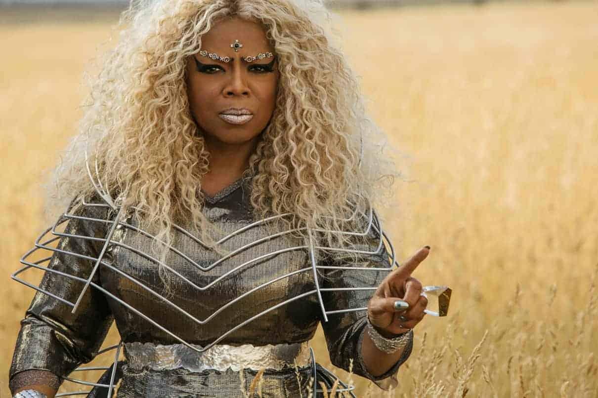 Oprah Winfrey is Mrs. Which in Disney's A WRINKLE IN TIME.