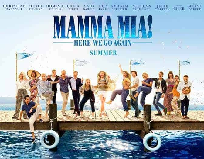 Mamma Mia! – Here We Go Again Movie Review