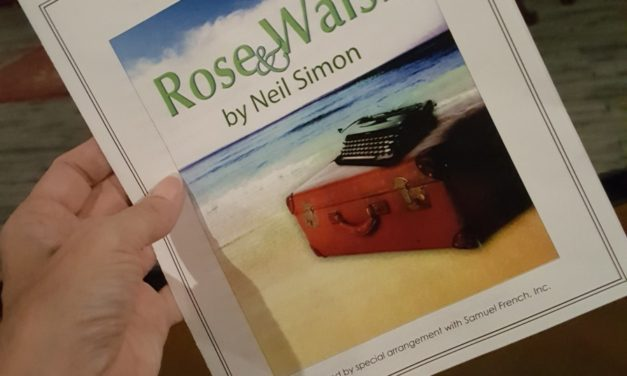 Neil Simon's 'Rose & Walsh' playing at AZ's 'Theater Artists Studio' through this weekend!