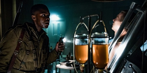 (L) Jovan Adepo as Boyce in the film, OVERLORD by Paramount Pictures