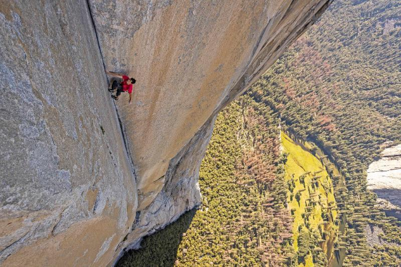 FREE SOLO gets a special one-week-only engagement in select IMAX® theaters starting today!!!