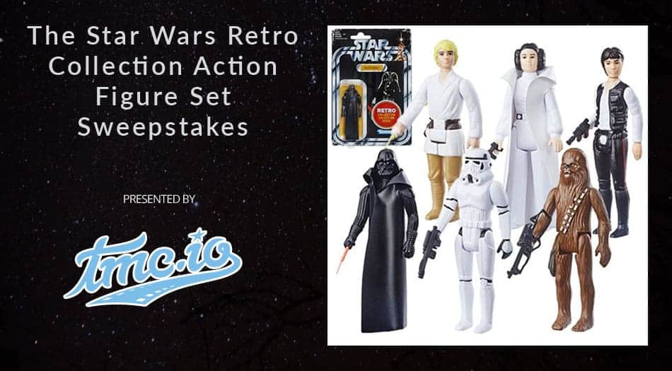 Star Wars Retro Collection Action Figure Sweepstakes