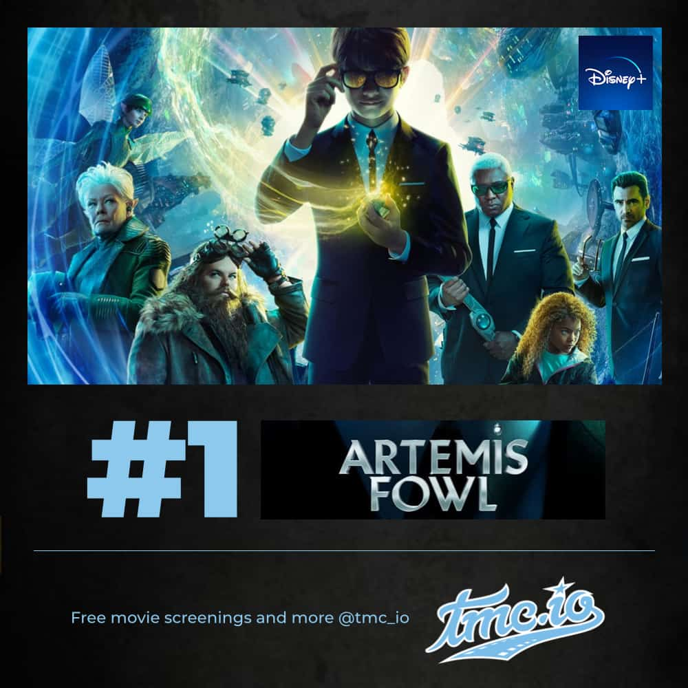 Artemis Fowl is our #1 streaming movies to watch this weekend on HBO